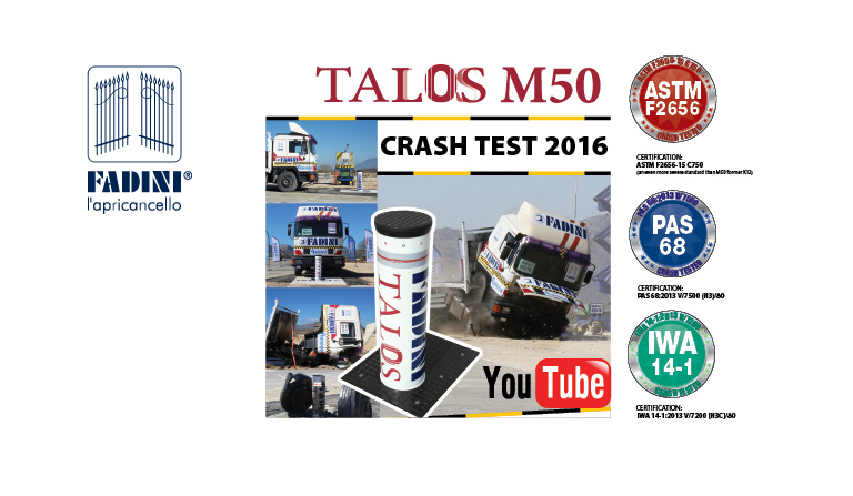 TALOS M50 Crash Test