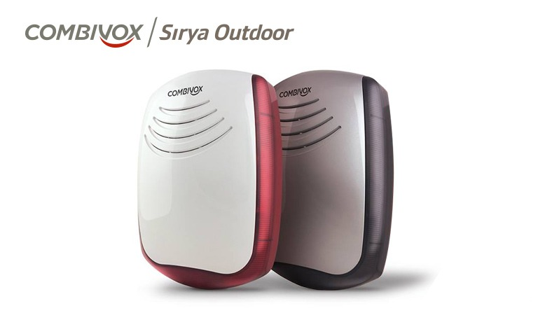 Sirene Sirya Wireless Outdoor e Sirya Stand-Alone Ourdoor
